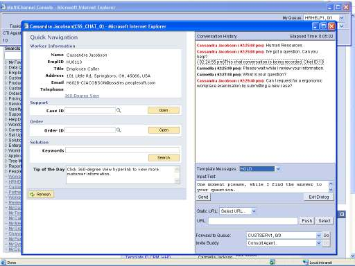 Agent Live Chat Improve availabilty and