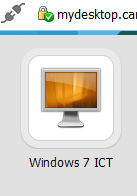 18. The VMware View Icon is now available as a shortcut on your