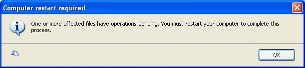 The Complete screen notifies you that the SQL installation has finished.
