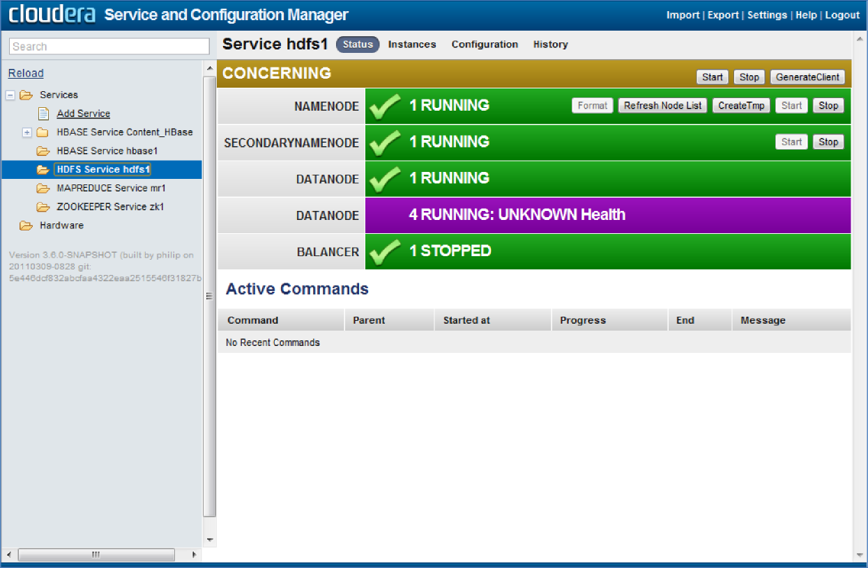 Cloudera Management Console Service