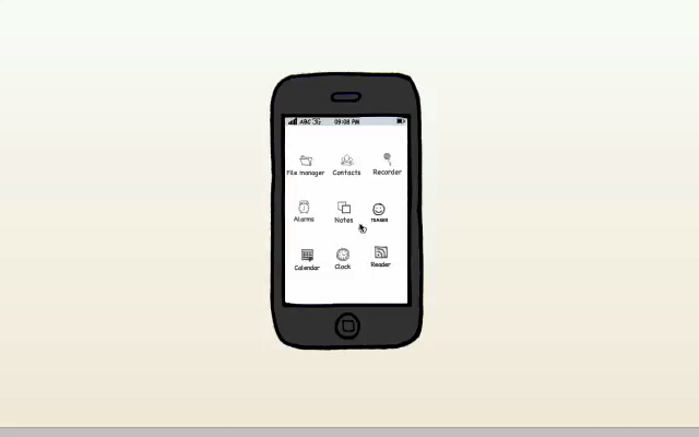 INTERFACE DEVICE FOR MOBILE DEVICES TEASER - PROJECT PROPOSAL GUIDELINES NAVIGATION PROTOTYPE