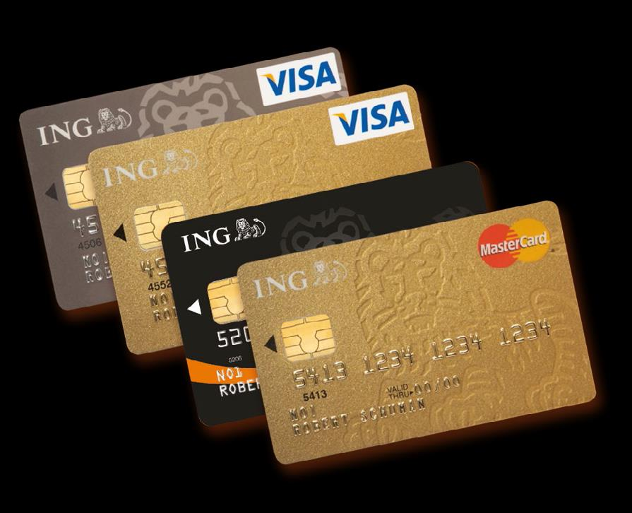 Image result for creditcards ING