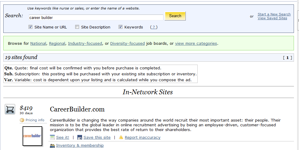 Job Board Integration Automatically post your approved requisitions on CareerBuilder, Monster or other job boards.