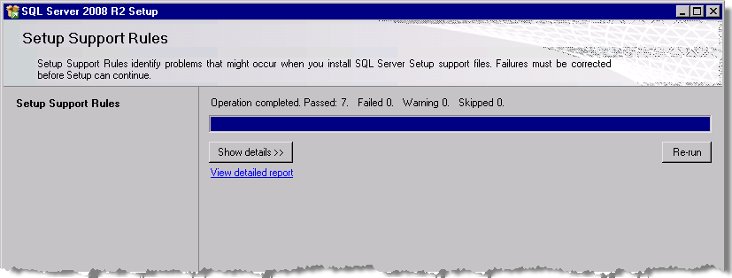 StruxureWare Power Monitoring Expert 7.2 Installation Guide Installing SQL Server 7. Click OK to close the Local Group Policy Editor.