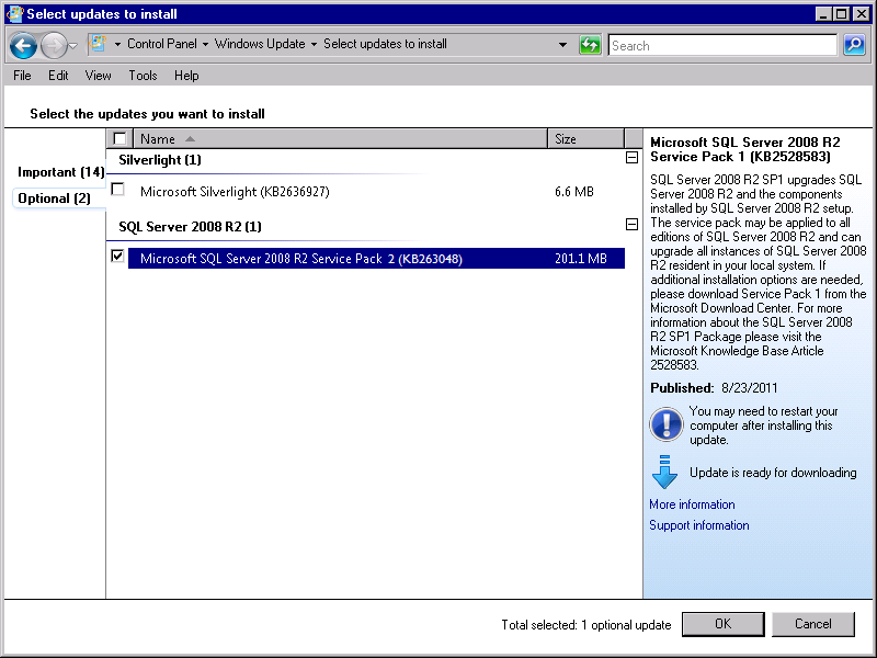 Installing SQL Server StruxureWare Power Monitoring Expert 7.2 Installation Guide 6.