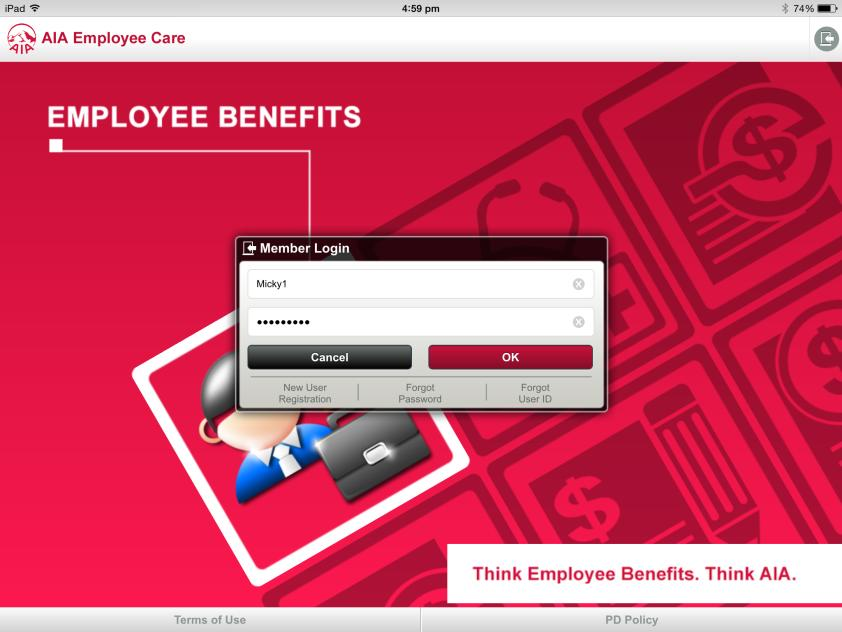 Members can login to AIA Employee Care with your AIA ebenefits user ID (this could be your staff ID number or your personal NRIC number) and password. What if I have 2 policies?
