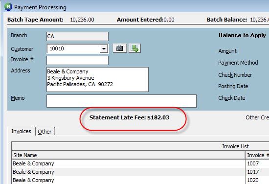 When applying a payment using the Other form, the User has four options to distribute the payment amount. The User may distribute the payment to one or a combination of the options available.