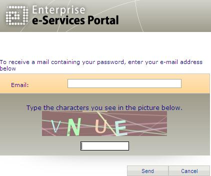How to recover a new password? 9. Go to the webgate: https://webgate.ec.europa.