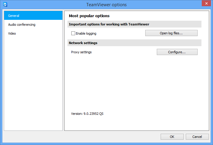 TeamViewer modules 11.2 The TeamViewer QuickSupport module TeamViewer QuickSupport is an application in the form of a single executable file.