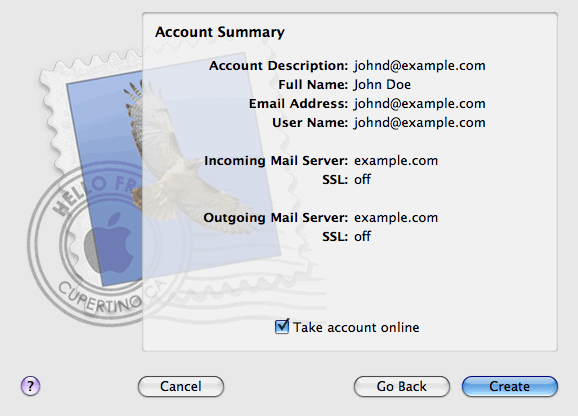 42 Accessing Your Mail from a Web Browser 10. Click Continue.