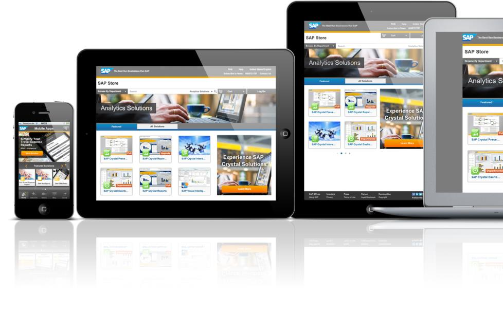 Expand your market reach by leveraging digital commerce www.store.sap.