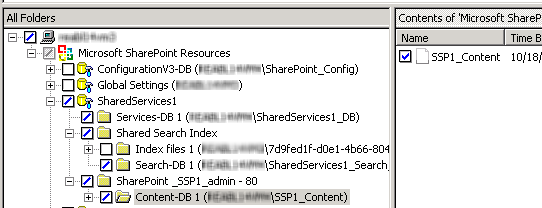 Performing backups and restores of SharePoint Server, SharePoint Foundation, and Windows SharePoint Services About restores of SharePoint Server, SharePoint Foundation, and Windows SharePoint