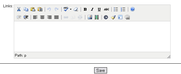 3. The WYSIWYG editor and default toolbar can provide basic word processing features.