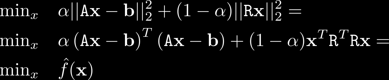 Explicit Regularization Answer: modify original problem to include additional optimization