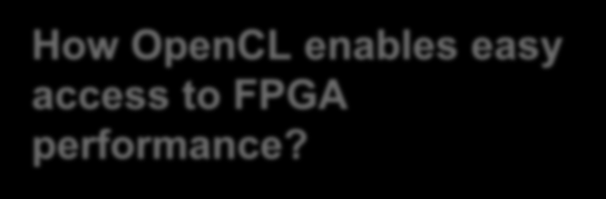 How OpenCL enables easy access to
