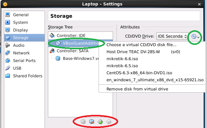 Virtual Machine Settings Storage Add hard drives