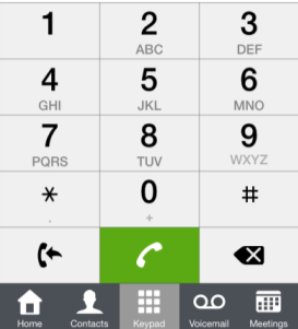 5.4.2 Cellular mode Call is presented in the native dialer (Apple constraint). 1. Answer the call. 2.