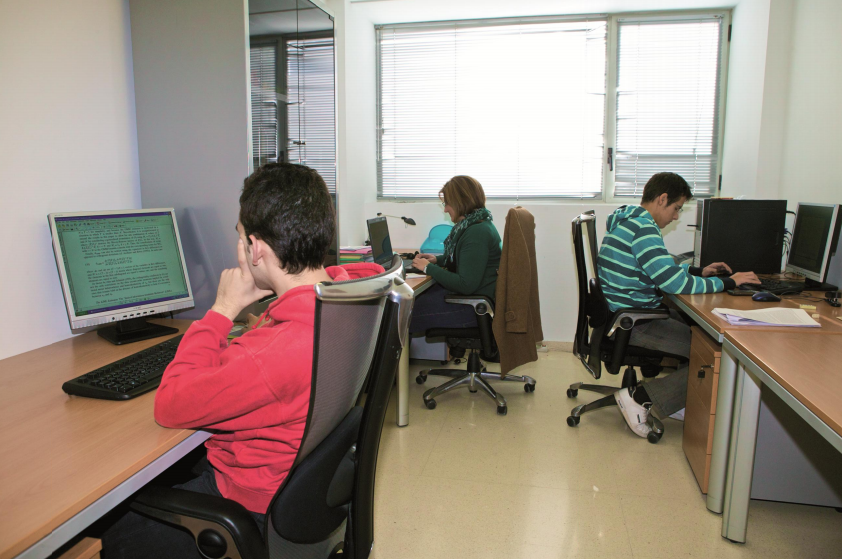 Our students at the department UA (Universidad de Alicante)