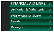 Financial Aid - Campus Connect The Financial Aid Links in the green My Ivy Tech section of Campus Connect can help you track, authorize and verify financial aid.