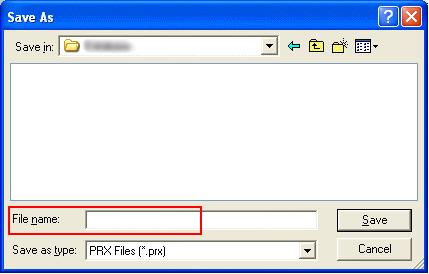 (4) Start GP-Pro EX Transfer Tool and click the [Receive Project] button.