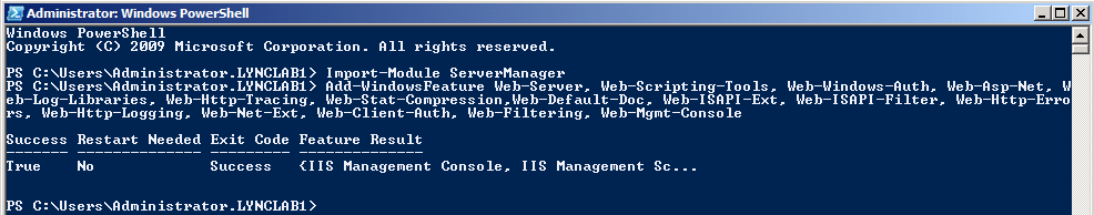 Performance Management Tools Management Tools Static content compression IIS Management Console IIS Management Scripts and Tools You can install IIS from Server Manager or by using the command line.