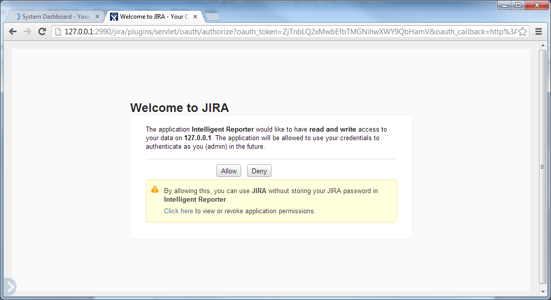 Clarios Technology Pty. Ltd. 3. Log in to Intelligent Reporter 4. Click the Synchronize with JIRA button 5.
