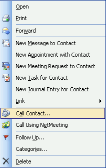 Launching calls from Microsoft Outlook Introduction This feature requires a commercial edition of 3CX Phone System for Windows If you use Microsoft