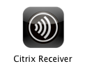 10. Click the Citrix Receiver shortcut which may install to the desktop, or you can find it from the