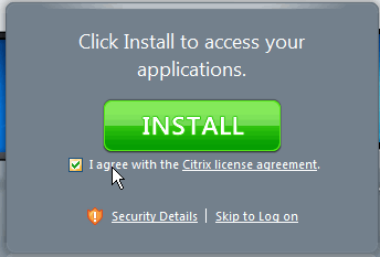 7 Citrix Receiver Installation for Windows Vista or Windows 7 with IE9 Use these steps to install Citrix on any Windows Vista or Windows 7 computers that use an IE9 browser and will need access to