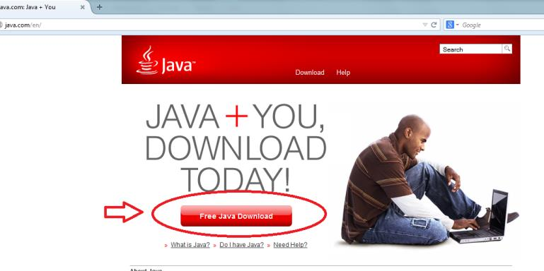 Installing Java for Mac 1) Go to www.java.com and click on Free Java Download.