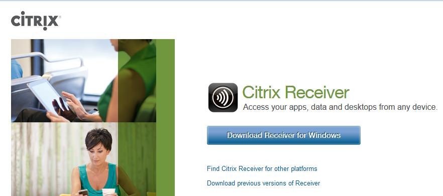 com Select the Find Citrix Receiver for other platforms link. Choose the appropriate device and follow the installation instructions.