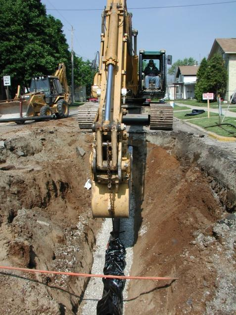 water and total project cost The total cost to project participants for each alternative was expressed in a monthly cost to liquidate the initial capital cost to construct the wastewater collection system, conveyance system and wastewater treatment plant, if.