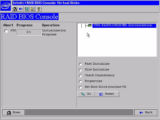 14. Click Yes to initialize the new drive. 15. Click Initialize to begin the initialization process.