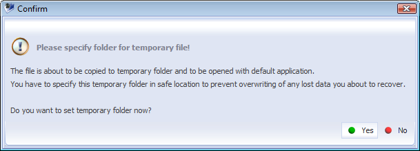 IV. Data recovery 57 4.2. Quick view of a file For convenience of use the software allows to preview a file before copying to a destination folder.