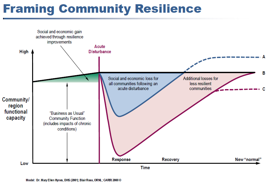 Community Resiliency Every $1 spent in mitigation saves $4 after a disaster * * Natural