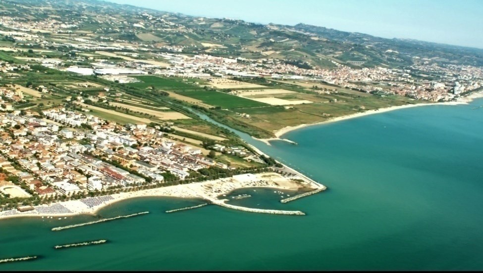 Study area Conero Mount PESARO NE ANCONA E SE -The whole Marche coastline