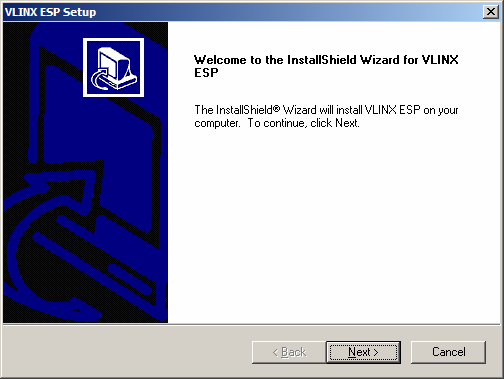 3. Select Next when the ESP901 Setup window appears. 4.