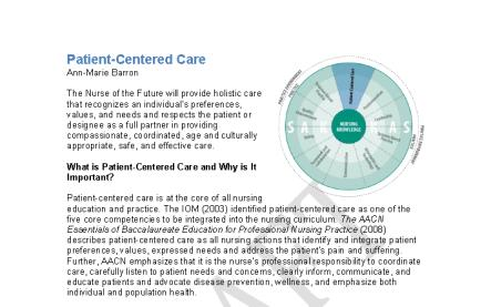 NOFNCC KNOWLEDGE, ATTITUDES AND SKILLS MA NURSING CORE COMPETENCIES TOOLKIT Cover Page MA NURSING CORE COMPETENCIES TOOLKIT Competencies Described MA NURSING CORE COMPETENCIES TOOLKIT Questions for