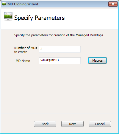 DEPLOYING MANAGED DESKTOPS FROM GOLDEN IMAGE Right click on the Desktop Pool in which you want to add Managed Desktops and click Add Desktops option.