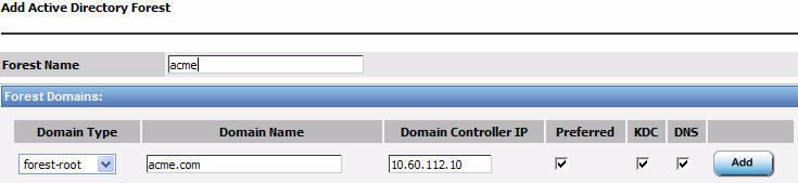 Deploying the ARX with VMware ESX Servers for Shared Content Access 4. From the Domain Type list, select forest-root. 5. In the Domain Name box, type a name for this domain.