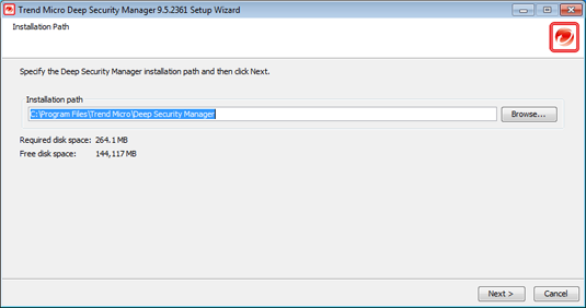 Installing the Deep Security Manager 2.