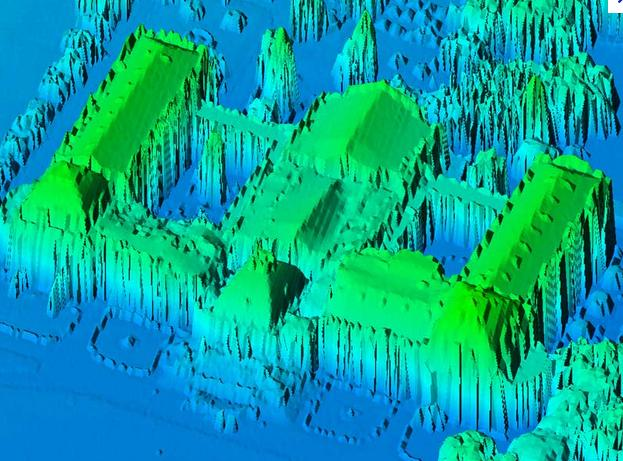 3D Building Roof Extraction From LiDAR
