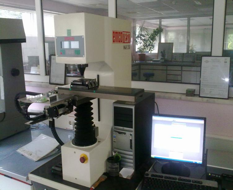 MECHANICAL TESTING LABORATORY Tensile Testing Machine (max.
