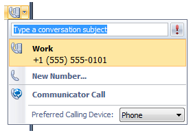 Call-forwarding rules. Communicator 2007 offers robust call forwarding settings that can be easily configured.