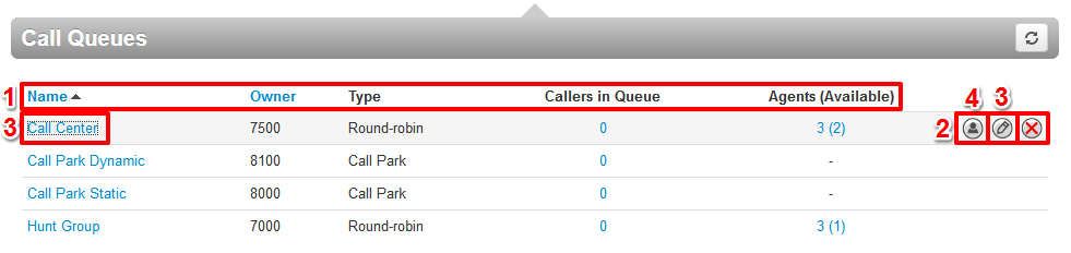 Call Queues name will be played when the participants enters or leaves the conference if the below option is enabled.