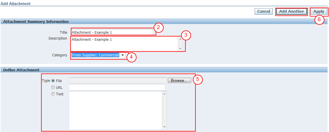 6.3. ADD ATTACHMENTS Follow these steps to attach any required or support documentation to the Quote.