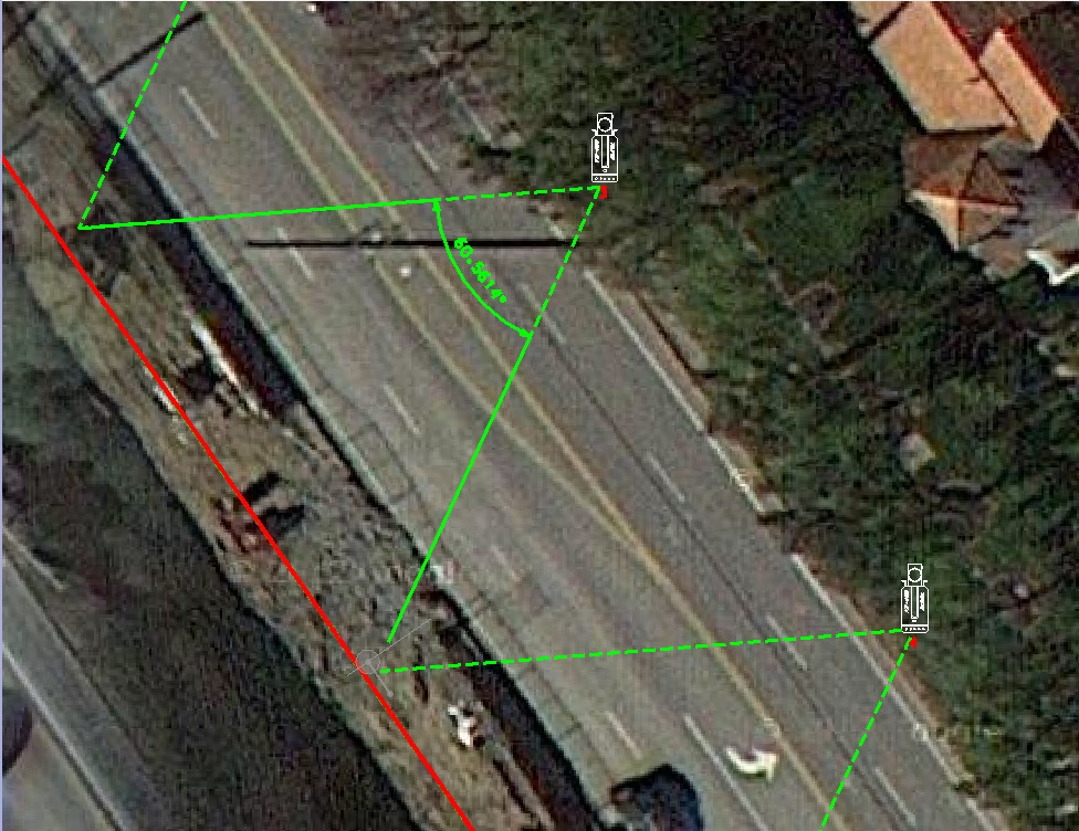 Note that such information is easily extracted from the LiDAR scanner operating software and TopoDOT.