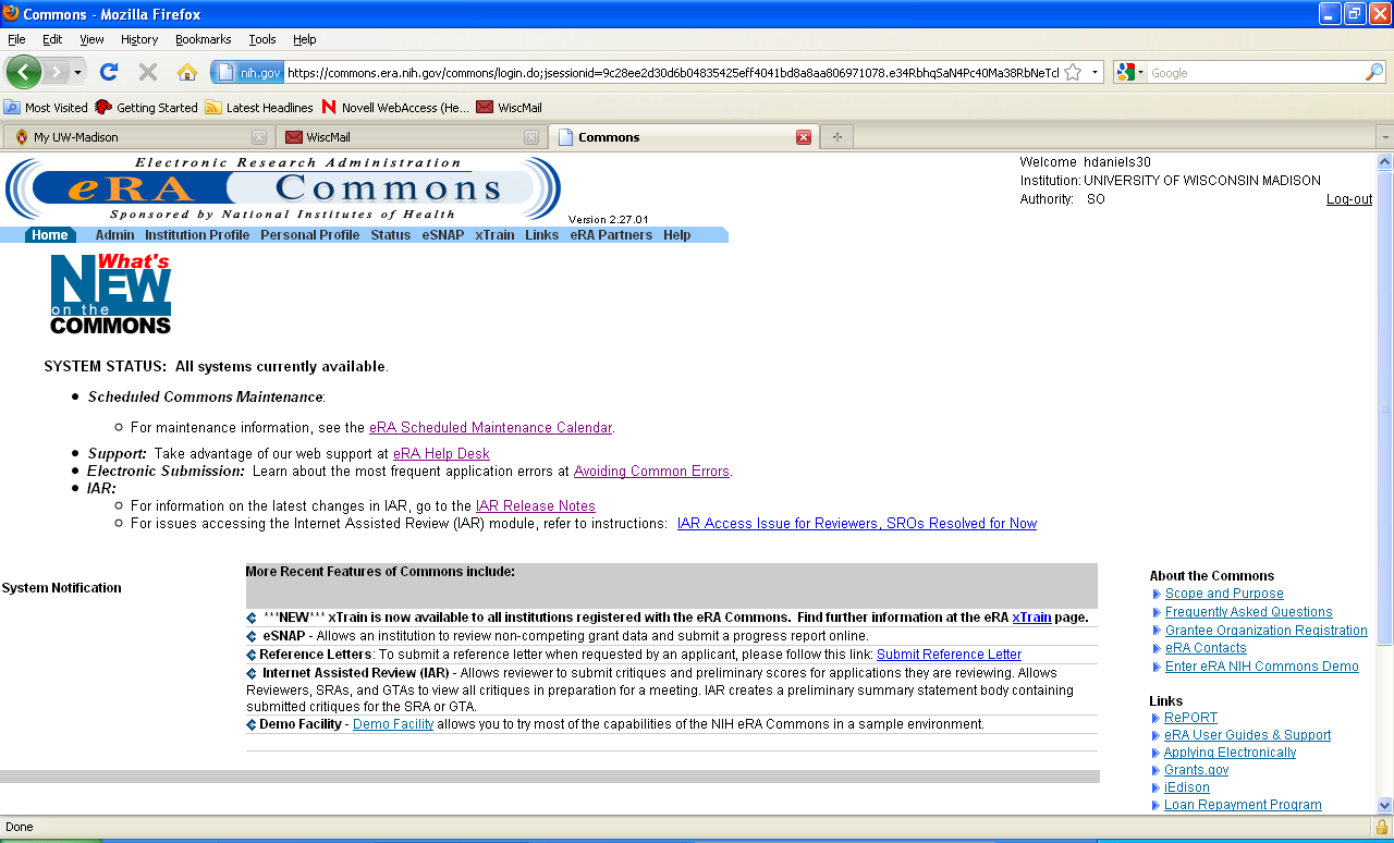 ... Nrsa Where Summary Statement Era Commons Nih Nrsa Grants Pdf ...