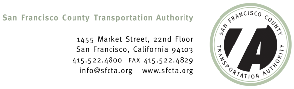 San Francisco County Transportation Authority Application for Membership on the Geary Corridor Bus Rapid Transit Citizens Advisory Committee Kevin Stull Male White FIRST NAME LAST NAME GENDER