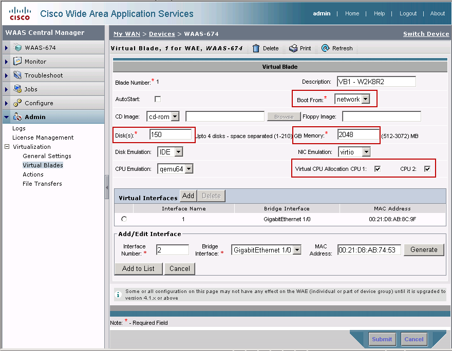 Simplified Server Configuration Server configuration tasks are simplified in Windows Server on WAAS deployments.